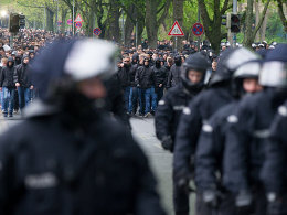 Stadionsturm folgen Festnahmen in Hannover