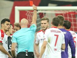 Nach Notbremse: Hoffmann für ein Spiel gesperrt