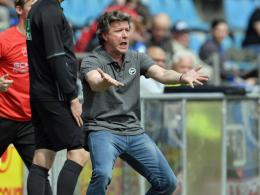 Arminia-Coach Saibene kündigt harten Kampf an