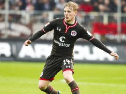 Noch ein Jahr: Möller Daehli bleibt bei St. Pauli