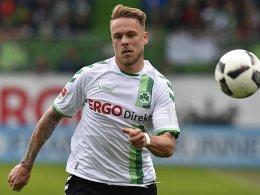 Fürths Franke im Fokus von Werder und Union
