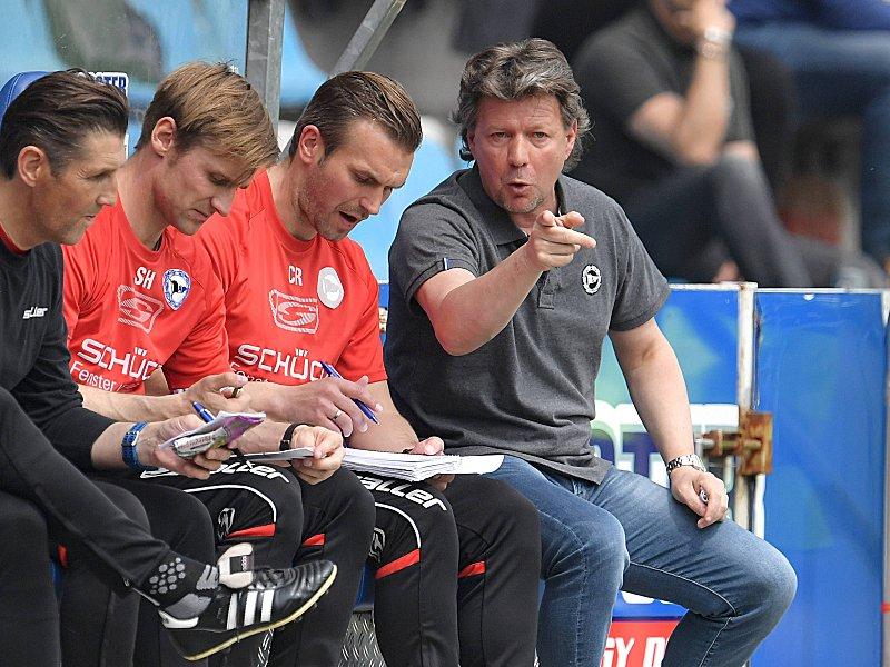 Zweite Bundesliga : Vertrag bis 2019: Arminia verlängert mit Retter Saibene