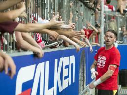 Pentke über Jahn-Fans: