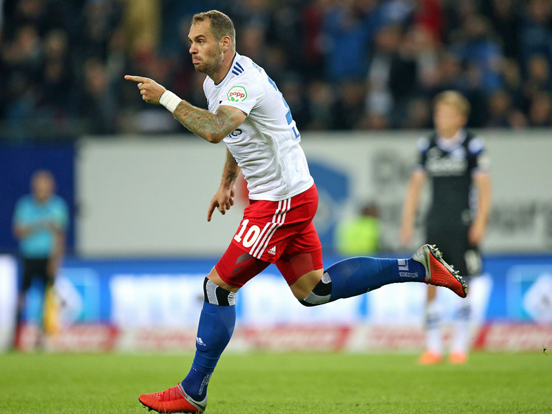Deutschland - Erster Zweitliga-Heimsieg für den HSV - 3:0 gegen Bielefeld