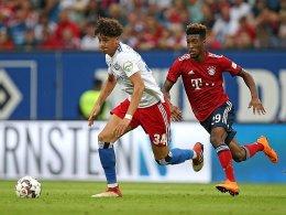 Die Raute im Herzen: HSV-Talent David wird Profi