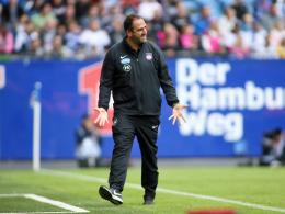 FCH-Coach Schmidt hadert: