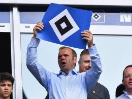 Hoffmann ist jetzt der richtige Boss beim HSV