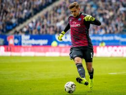 HSV-Torwart Pollersbeck rückt weiter zurück
