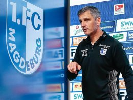 Magdeburg trennt sich von Trainer Härtel