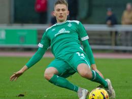 Fix: Ole Käuper von Werder an Aue ausgeliehen