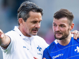 Darmstadt-Coach Schuster probt den Systemwechsel