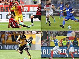 Extreme des 1. Spieltags: Magnet Danilo, Dribbler Zuck & Co.