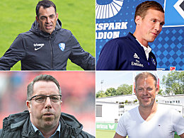So lange laufen die Verträge der Zweitliga-Trainer