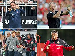 Die zehn treuesten Trainer in Liga 1 und 2