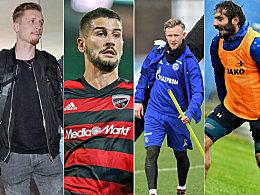 Die wichtigsten Winter-Wechsel der 2. Liga