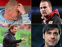 Trainer in Liga zwei: Wer ging und wer �bernahm