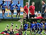 Die Trainingsauftakte der 2. Liga