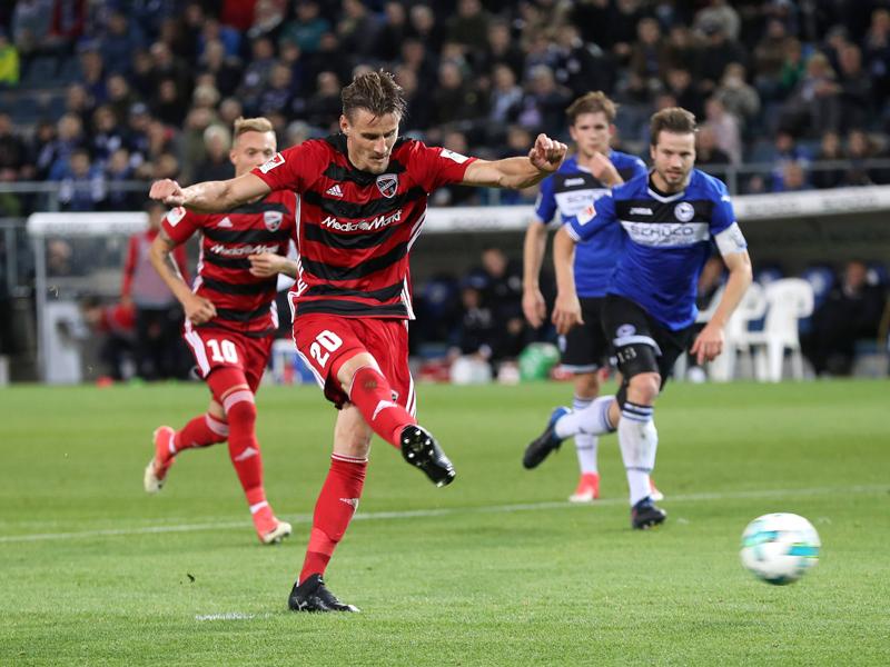 Sieg in Bielefeld: Ingolstadt setzt Aufholjagd fort