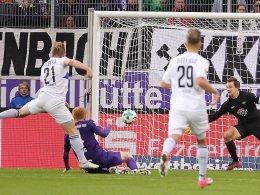 Voglsammer rettet Bielefeld in der Nachspielzeit