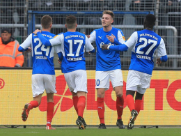 3:0! Kiel bleibt weiter dick im Geschäft