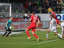 Thiel bringt FCH gegen St. Pauli auf Kurs