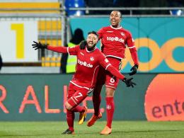 Borrello und Mwene nähren die FCK-Hoffnung