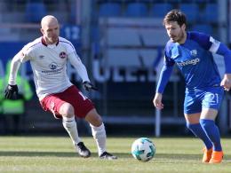 0:0 - Nürnbergs Negativserie in Bochum hält an