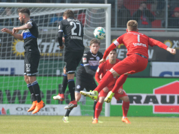 Voglsammer rettet Bielefeld Last-Minute-Punkt