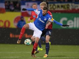 2:1 - Holstein Kiel legt im Aufstiegsrennen vor