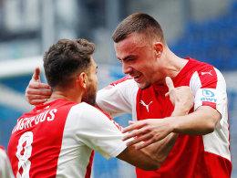 2:0 in Duisburg: SVS beendet Siegloserie