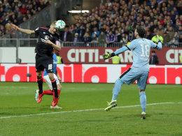 Behrens köpft Nürnberg zum Sieg im Topspiel