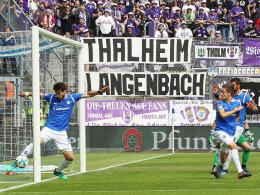 Mehlems Eigentor zählt nicht: Aue in der Relegation