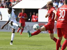 Greens Treffer rettet den Zweitliga-Dino