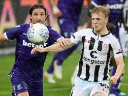 Möller Daehli leitet St. Paulis Sieg ein