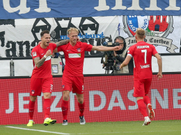 Vor der Pause glänzt Dovedan - danach Keeper Müller