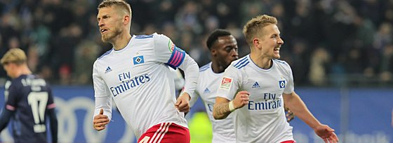 Aaron Hunt und Lewis Holtby