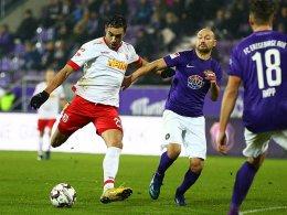 Zehn Spiele ungeschlagen - Regensburger Serie hält
