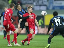 Joker Düker hält Paderborns Heimweste weiß