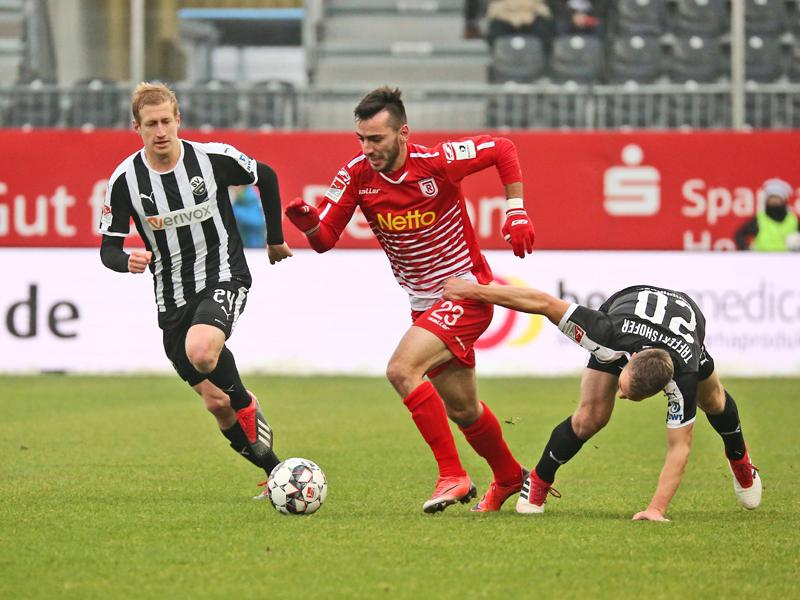 Sv Sandhausen Jahn Regensburg 22 2 Bundesliga Saison 201819