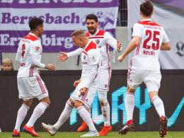 3:0 in Aue - Kittel und Kotzke lassen Kellers Team jubeln