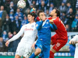 Kampfspiel in Magdeburg: FCM und Kiel teilen die Punkte
