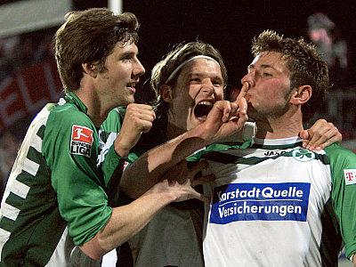 Jan Mauersberger, Martin Lanig und Stefan Reisinger