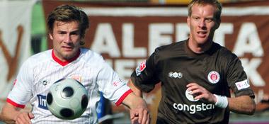 Daniel Baier (links) und Timo Schultz