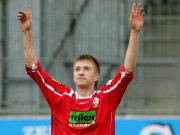 Marco Reus (RW Ahlen) bejubelt seinen Treffer