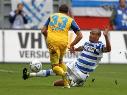 MSV Duisburg - FC Hansa Rostock, Tino Semmer, Bruno Soares
