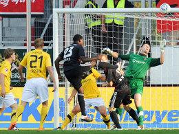 7. Spieltag, 2. Bundesliga, Ingolstadt-Dresden, Buddle, 1:0