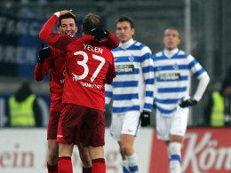 Zafer Yelen, Ilijan Micanski (beide FSV Frankfurt)