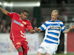 Chinedu Ede (1. FC Union Berlin), Maurice Exslager (MSV Duisburg)