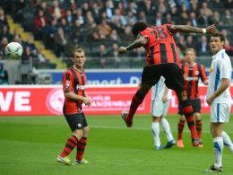 Idrissou erzielt das 1:0