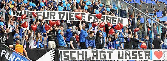 FSV-Fans in Paderborn